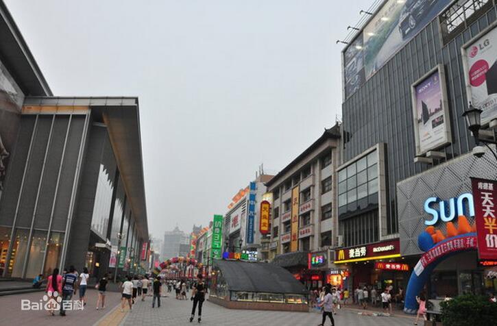 瀋陽中街歩行街(瀋陽観光スポット)