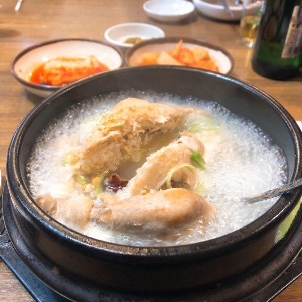 瀋陽西塔街の参鶏湯(瀋陽観光スポット)