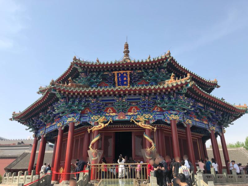 瀋陽故宮大政殿(瀋陽観光スポット)